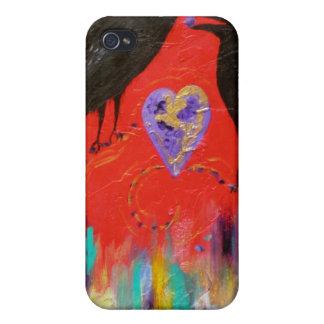 Kråkahjärta iPhone 4 Cover