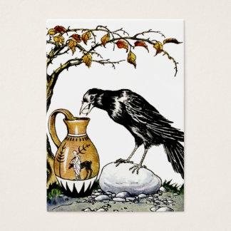Kråkan och kannan profilerar kortet visitkort