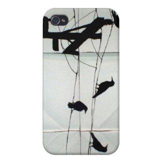 Kråkasammansättning iPhone 4 Hud