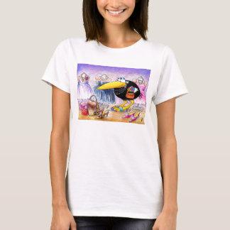 Kråkavintage som beklär skjortan för samlare t tee