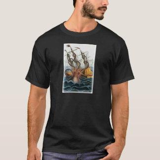 Kraken av Pierre Denys de Montfort, 1801 Tee Shirt