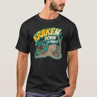 Kraken besegrar på piratkopiering tröja