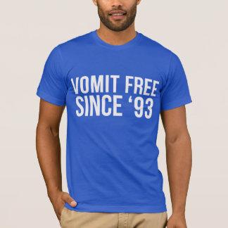 Kräkning som är fri efter 'T-tröja 93 T Shirt