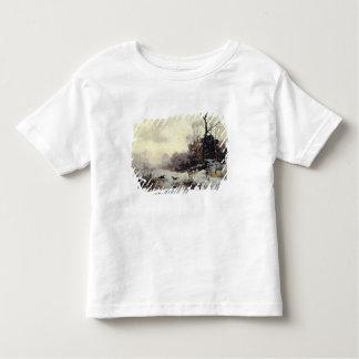 Kråkor i en vinter landskap, 1907 t shirt