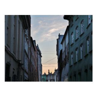 Krakow gammal Town Vykort