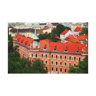 Kraków Polen Canvastryck