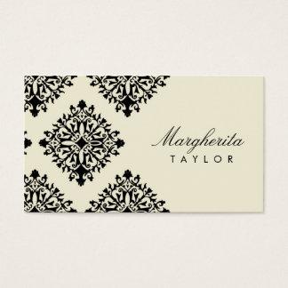 Kräm för 311 Margherita et Blanc damast Visitkort