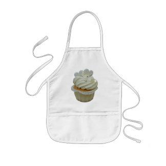 Kräm- muffin med hjärtor barnförkläde