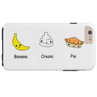 Kräm- pajvänner för banan tough iPhone 6 plus fodral