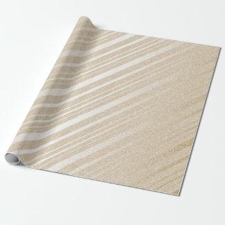 Kräm- pastellfärgad delikat randlinjer för presentpapper