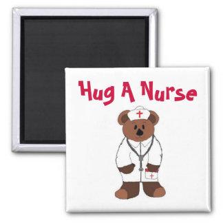 Krama en sjuksköterska magnet