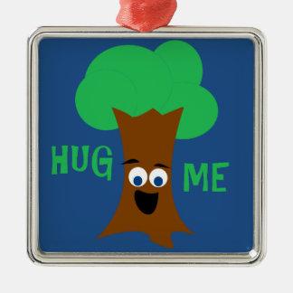 Krama mig (Treehugger) Julgransprydnad Metall