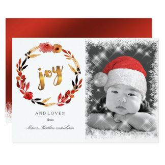 Kran ID292 för julglädjevattenfärg 12,7 X 17,8 Cm Inbjudningskort