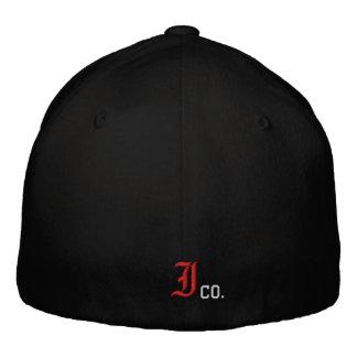 Kränka designen broderade Sladd-Passformen hatten Broderade Kepsar
