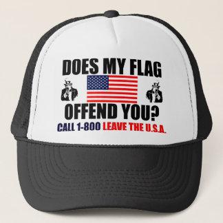 Kränker min flagga dig? truckerkeps