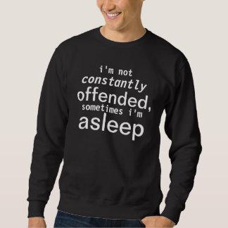 kränkt sova lång ärmad tröja
