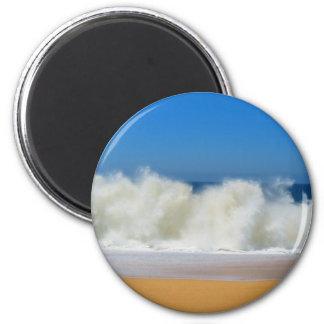 Krascha hav vinkar magnet rund 5.7 cm