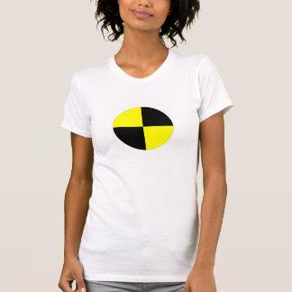 kraschen testar attrapper som symbolet t-shirt