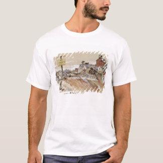 Krater på Skinka-Sanktt-Quentin T Shirts
