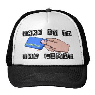 Kreditkorten begränsar keps