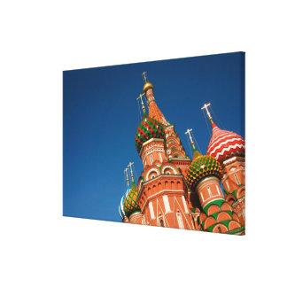 Kremlin Vasiliy välsignade | Moscow, Ryssland Canvastryck