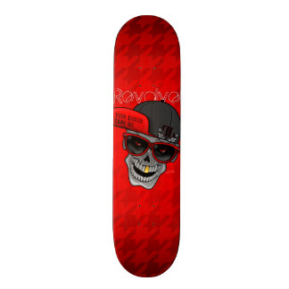 Kretsa (din kylare än mig) rött skate board decks