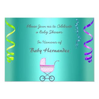 Kricka för baby showermeddelandeparty 12,7 x 17,8 cm inbjudningskort