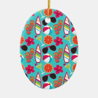 Kricka för boll för strand för solglasögon för julgransprydnad keramik