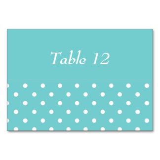Krickahimmelpolkaen pricker bordkortet bordsnummer