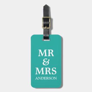 Krickan Herr & Fru som gifta sig bröllopsresa, Bagage Lapp