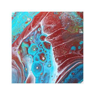 Krickan och förkopprar akrylabstrakt canvastryck