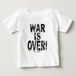 Krig är över (den ha på sig looken) tee