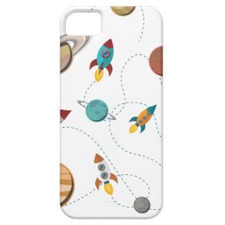 Krig för måne för landning för Wellcoda iPhone 5 Cases