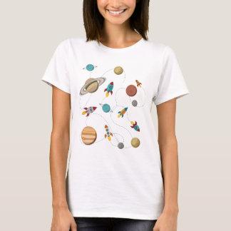 Krig för måne för landning för Wellcoda T-shirts