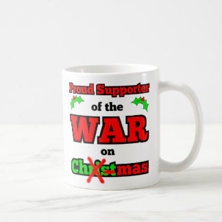 """""""Krig lycklig helgdagmugg på för jul"""" Kaffemugg"""