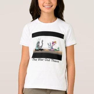 Krig ut där tee shirts