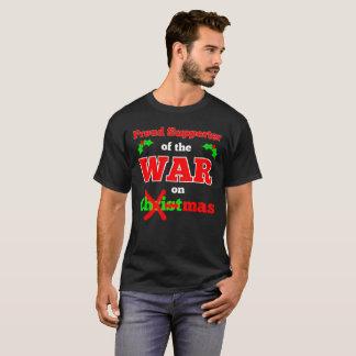 """""""Kriga på den jul"""" X-mas T-tröja (svarten) Tröjor"""