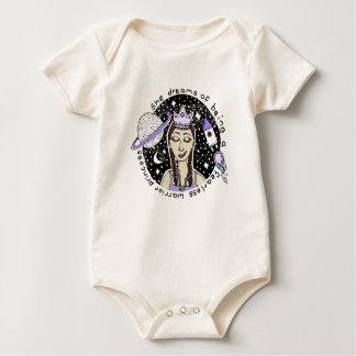 KrigarePrincess Klottra Astronaut Feminism & namn Body För Baby