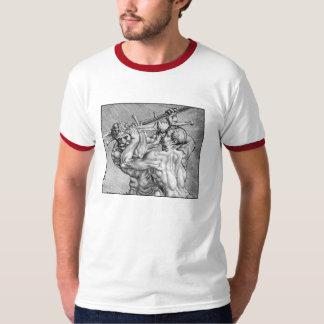 Krigs- disciplinringershirt tröjor
