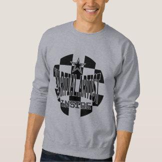 Krigs- konstnärinsidatröja långärmad tröja