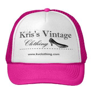 Kriss vintage som beklär truckerkepsen keps