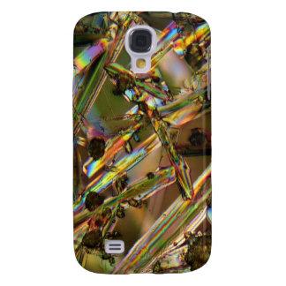 Kristaller/Aluminate under mikroskopet Galaxy S4 Fodral