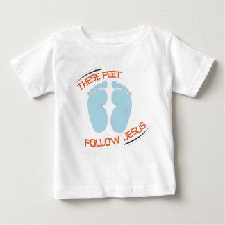 Kristen bebist-skjorta: Följ Jesus Tee Shirt