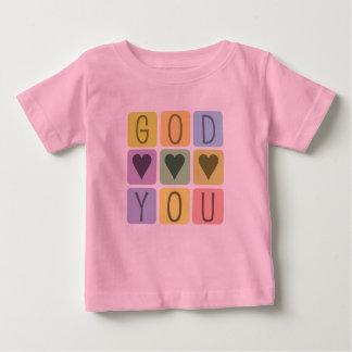 Kristen bebist-skjorta: Gudhjärtor dig Tshirts