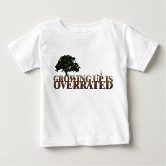 Kristen bebist-skjorta - växa upp överskattas tee shirts