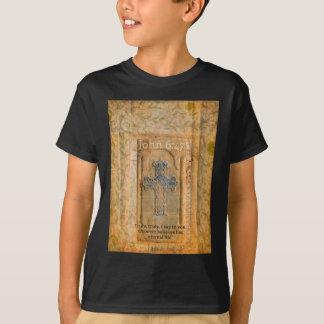 Kristen biblisk citationsteckenrenaissancekor t shirts