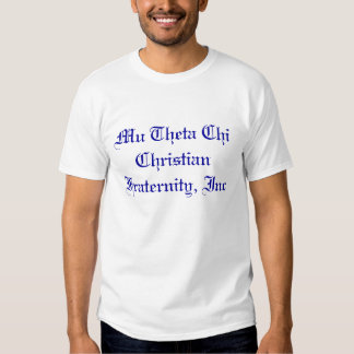 Kristen broderskap för Mu-ThetaChi, Inc Tröja