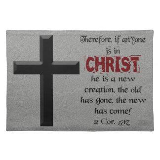 Kristen… därför, om någon är i Kristus Bordstablett