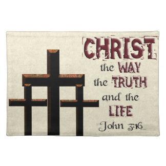"""Kristen för sanningsliv för gåva """"långt John"""" 3:16 Bordstablett"""
