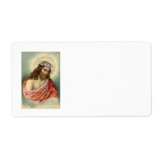 Kristen kristendomen Nimbus för Jesus Kristus Fraktsedel